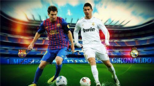 "Cristiano Ronaldo CR7 Football Star Art Wall Poster 21x13"" CR02"