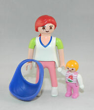 Playmobil Wohnhaus Stadtleben Frau mit Baby im Tragetuch 3965 4279 5300 #36192