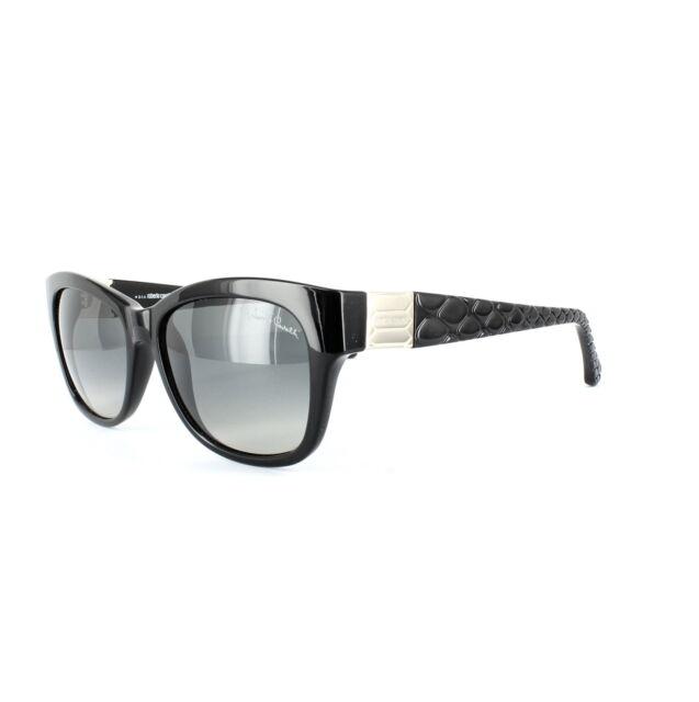 Roberto Cavalli Gafas de sol ACAMAR 785 01b Brillante Negras Grises Degradadas
