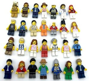 LEGO NEW MINIFIGURES TOWN CITY SERIES BOY GIRL STAR WARS CASTLE YOU PICK MORE