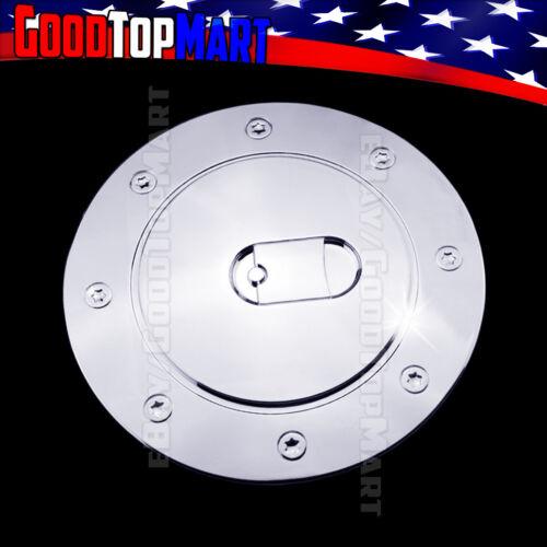 For Chevy SILVERADO 1999-2001 2002 2003 2004 2005 2006 Chrome Gas Cap Door Cover