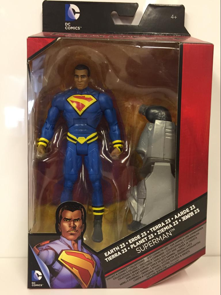 Earth 23 Superman DC COMICS MULTIVERSE dkn40 Mattel NEU