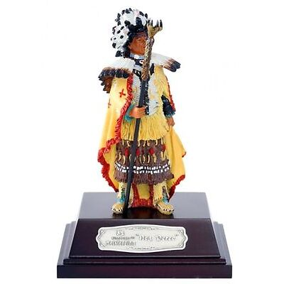 Nürnberger Meisterzinn 20003 Deko Figur Indianer Nez Perc stehend 10cm