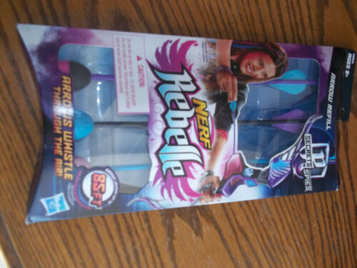 2 packs NERF Rebelle   3 Arrow Refill Pack