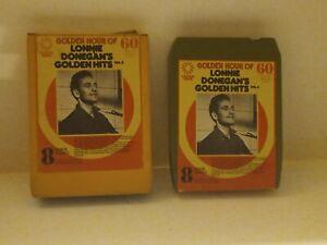 8-Track-Cassette-golden-hour-of-Lonnie-donegan-039-s-golden-hits-vol-2