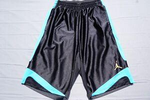 d5ad4f23828436 Image is loading NIKE-Air-Jordan-Athletic-Basketball-Shorts-Jumpman-Elastic-