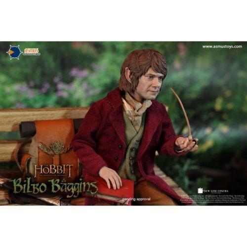 Asmus Toys 1 6 Hobbit Bilbo Baggins Action Figure HOBT07 Collectable Model Toy