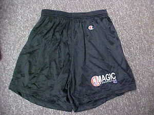 Official-NBA-1990-039-s-Orlando-Magic-Basketball-Champion-Practice-Shorts-Size-Large