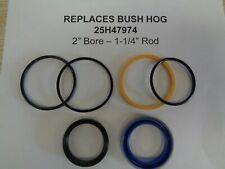 25h47974 Bush Hog Replacement Seal Kit 2 Cylinder With 1 14 Rod