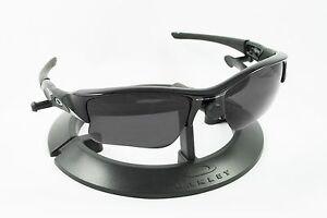 25d03d9af8 OAKLEY FLAK JACKET XLJ BLACK FRAME   REVANT STEALTH POLARIZED CUSTOM ...