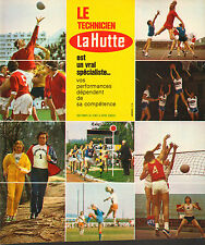 Publicité 1973  LA HUTTE  magasin de sport