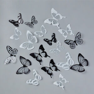 Image Is Loading 18pcs Creative Home Decor 3D Butterfly Sticker Art