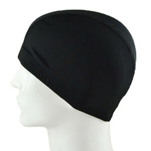 Black-spandex-dome-cap-mesh-hair-net-for-making-wigs-snood-stretchy-wig-2Y