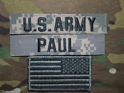 Analytisch Us Army Ucp Name Tape Acu At Digital Uniform Klett Tab Patch Set Flagge Paul StäRkung Von Sehnen Und Knochen