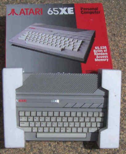 65XE Atari Computer 64K RAM New NTSC US Compatible from Atari MEXICO
