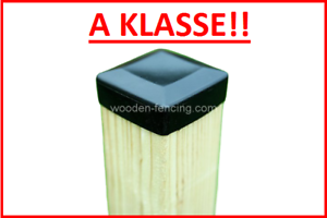 D Zaunpfosten super glatt 7x7x120 6 stk sibirische Lärche Holzpfosten Zaun