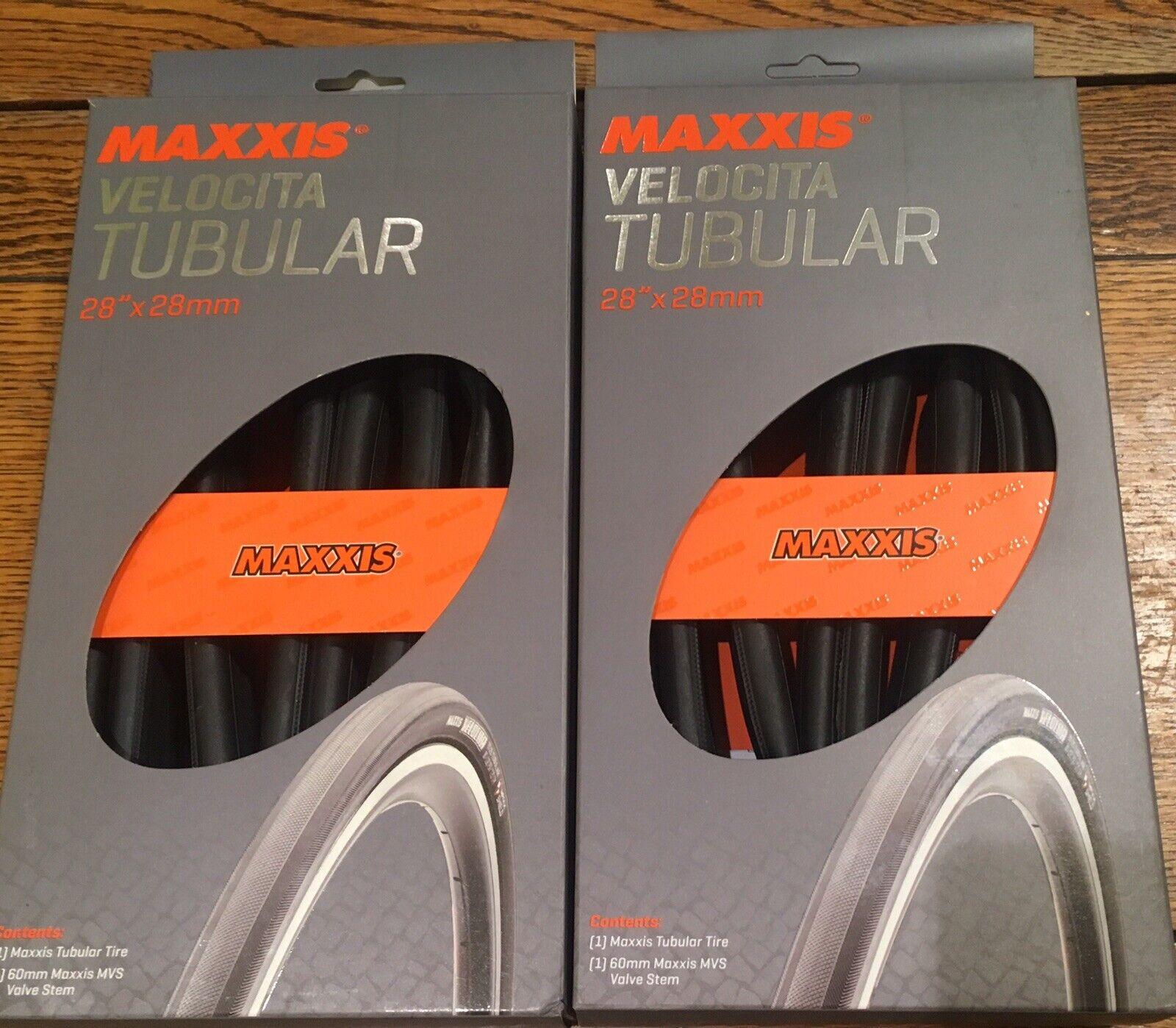 Maxxis Velocita Tubular  Tires x2.  outlet sale