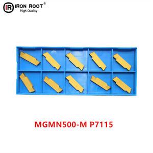 10P MRMN500-M P7115 CNC lathe Carbide Grooving insert For steel