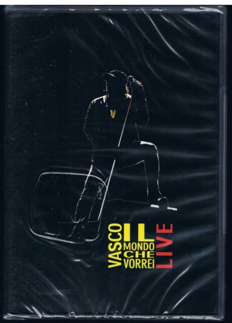 VASCO ROSSI IL MONDO CHE VORREI LIVE DVD NUOVO SIGILLATO!!!