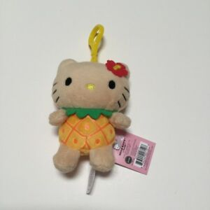 7b58a3dda9 Image is loading Hello-Kitty-Hawaii-pineapple-red-hibiscus-flower-plush-