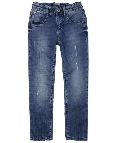 LOSAN Junior Boy/'s Jogg Jeans in Medium Blue Sizes 8-16