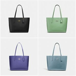 d528254be9b5 Image is loading New-Coach-F31535-Avenue-Tote-Leather-Handbag