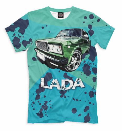 ВАЗ 2105 Classic USSR t-shirt VAZ LADA 2107 Zhiguly Жигули best russian car
