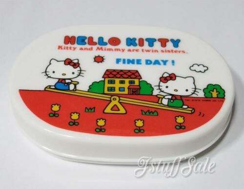 1976 Sanrio Hello Kitty and Mimmy 70/'s vintage bento box