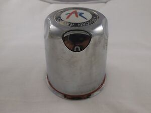 American Racing Wheels Chrome Custom Wheel Center Cap # 10833