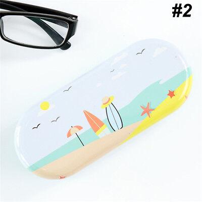 Protable Print Sunglasses Hard Eye Glasses Case Eyewear Protector Box Pouch Bag