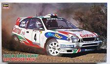 HASEGAWA 1/24 Toyota Corolla WRC 1999 Portugal rally scale model kit w/Cartograf