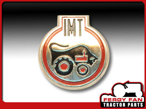 Metallschild Emblem Massey Ferguson IMT//ITM
