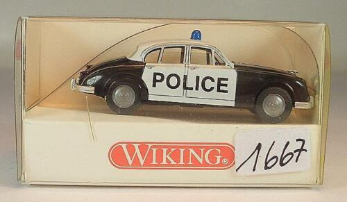 Wiking 1//87  Nr 864 03 29 Jaguar MK II Limousine Police Polizei OVP #1667