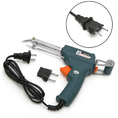 220V 60W Auto Welding Electric Soldering Iron Temperature Gun Solder Tool Kit