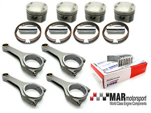 Details about Cosworth YB 0 5mm 4 FORGED WRC / Long rod pistons, Steel  Rods, MAHLE big ends