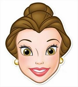 Belle from Beauty & The Beast Single Fun Disney CARD ...