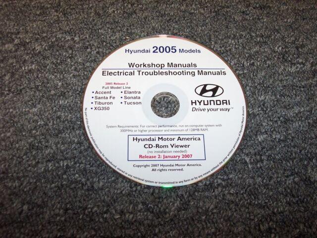 2005 Hyundai Santa Fe Electrical Wiring Diagram  U0026 Shop