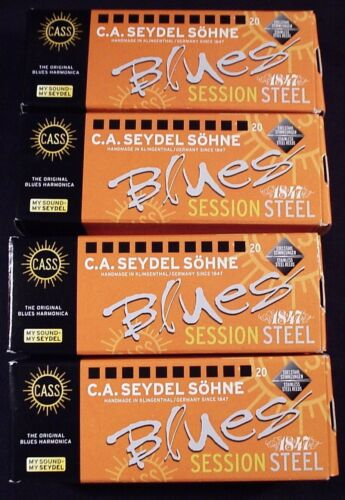 FOUR Seydel 1847 Session Steel Reed Harmonicas BUY 4 /& SAVE CHOOSE ANY 4 KEYS