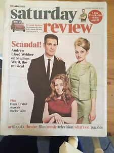 PROFUMO AFFAIR uk mag 2013 STEPHEN WARD CHRISTINE KEELER MANDY RICE DAVIES