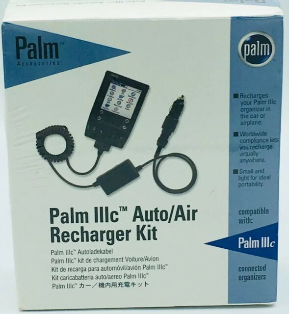 NEW Palm 3c IIIc Auto/Air Recharger Kit