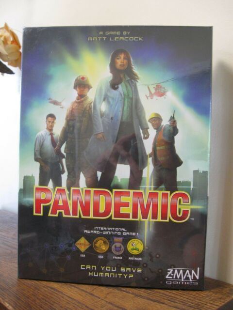 New! Pandemic Board Game by Z-man Games