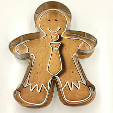Gingerbread Man Shape Cutter - Cookies Biscuits Marzipan and pastry
