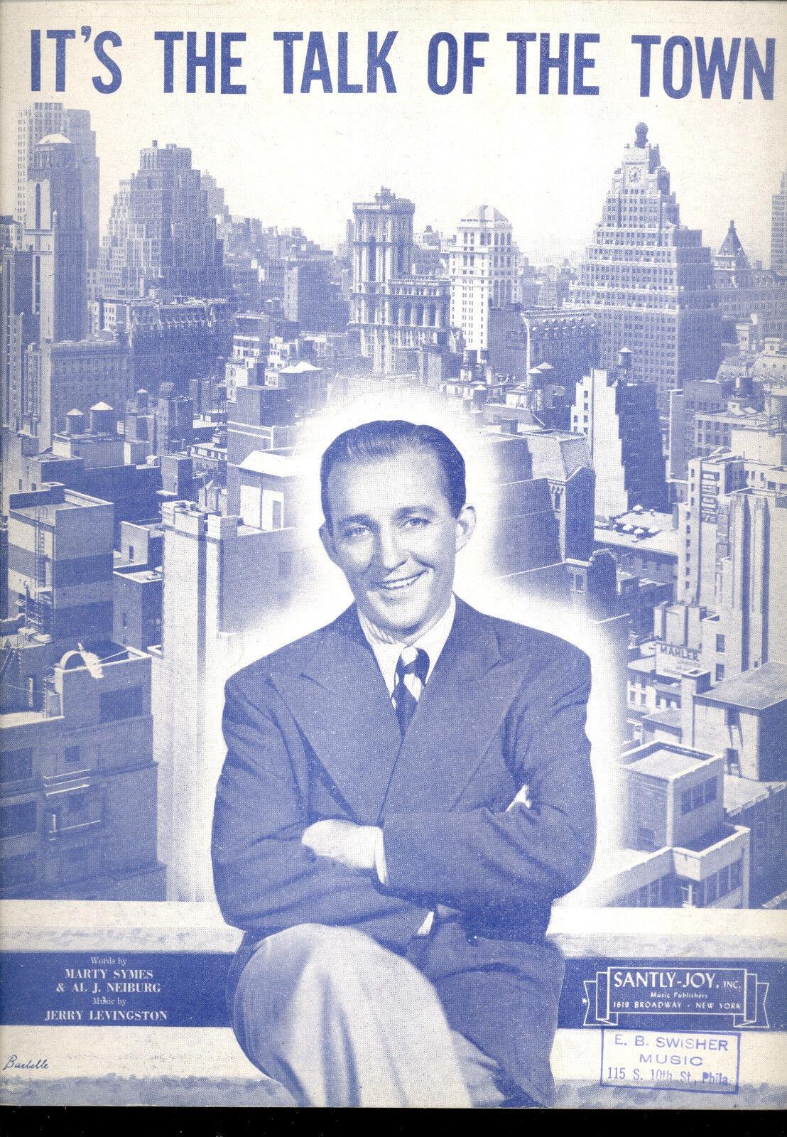 Bing Crosby Crosby Crosby partituras  es el Talk of the Town  637ebd