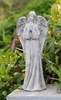 Tall Praying Angel Outdoor Garden Statue