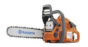 """HUSQVARNA 435 16"""" 40.9cc Gas Powered 2 Cycle Chain Saw Home Tree Chainsaw"""