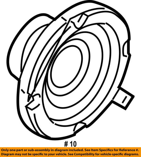 Buy 2010 13 Kia Soul Sub Woofer Speaker Jbl Infinity 96380 2k500