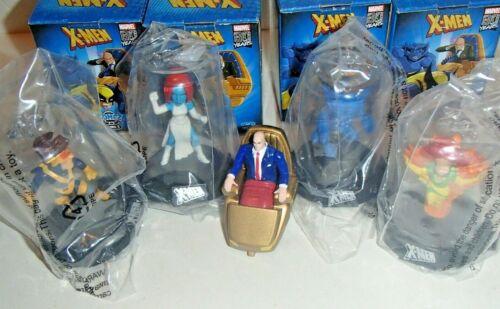 Bonus Professor X Die Cast MORE Domez X-Men Dark Zag toys Marvel Figure Pick 2