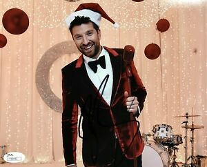 image is loading brett eldredge 2017 christmas special signed 8x10 photo
