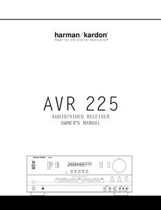 Harman Kardon festival 300 manual