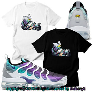superior quality 380e3 8461e Image is loading NEW-CUSTOM-T-SHIRT-matching-NIKE-AIR-VAPORMAX-